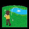 ゴルフ、池