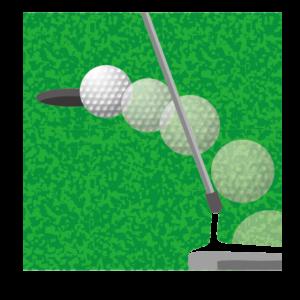 ゴルフ、パット