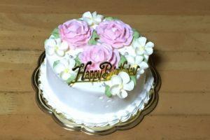 ル・タブリエ、誕生日ケーキ