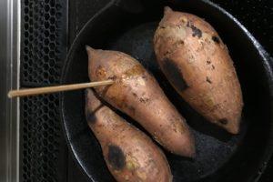 スキレット焼き芋