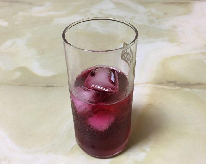 赤しそジュース