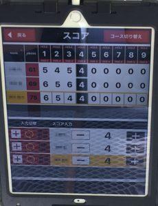 錦山カントリー、GPSカートナビ