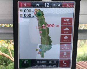 錦山、GPSカートナビ