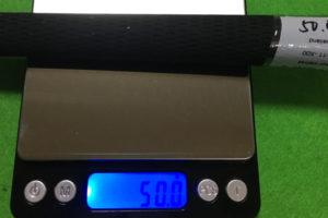 グリップ重量測定