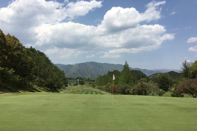 錦山カントリーOUT1番
