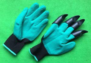 不織布プランター付属園芸用手袋