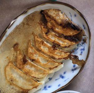美味しんぼ山岡、餃子