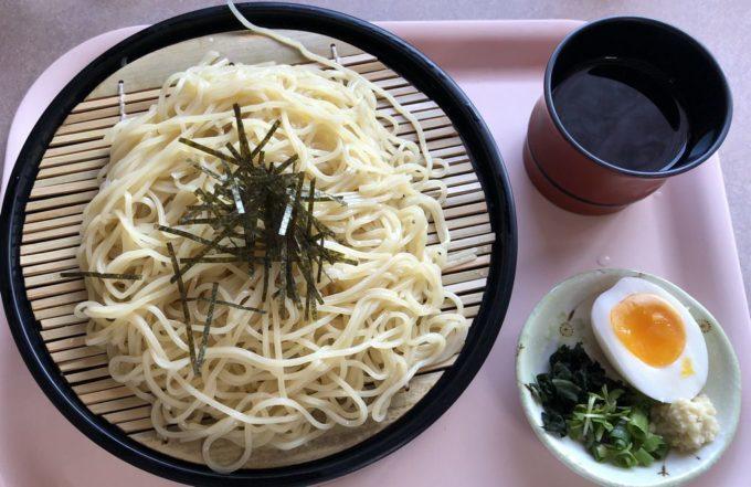 美味しんぼ山岡、ざる麺