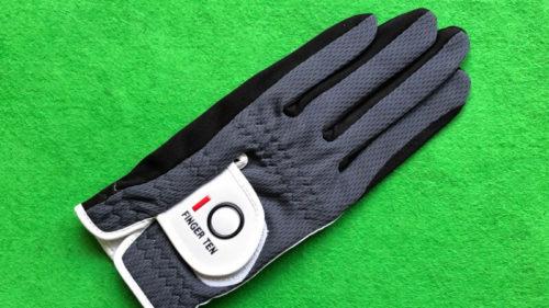Finger Ten ゴルフグローブ、全天候型メッシュゴルフグローブ