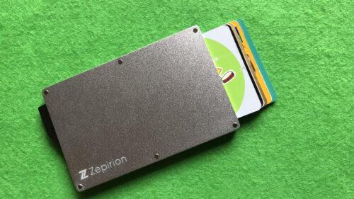 5枚収納カードホルダー、zepirion|カード出し