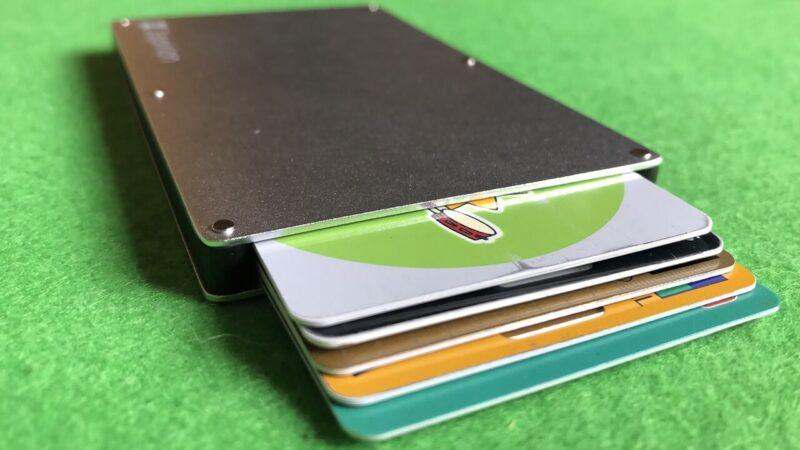5枚収納カードホルダー、zepirion