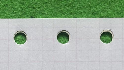 A5・6穴リフィル ダイソー100均と最初から付いてたリフィル-3